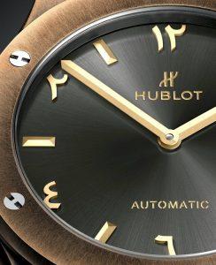 Copie Hublot Classic Fusion Special Edition Bronze Anticlockwise