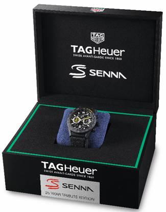 Copie Montre TAG Heuer Carrera Calibre 16 Ayrton Senna édition spéciale 2019