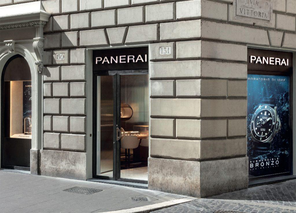 Panerai boutique Roma
