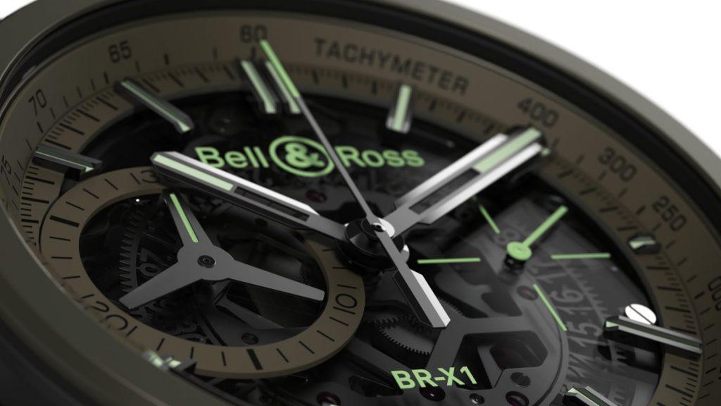 Replique Montre Bell Ross BR X1 Military