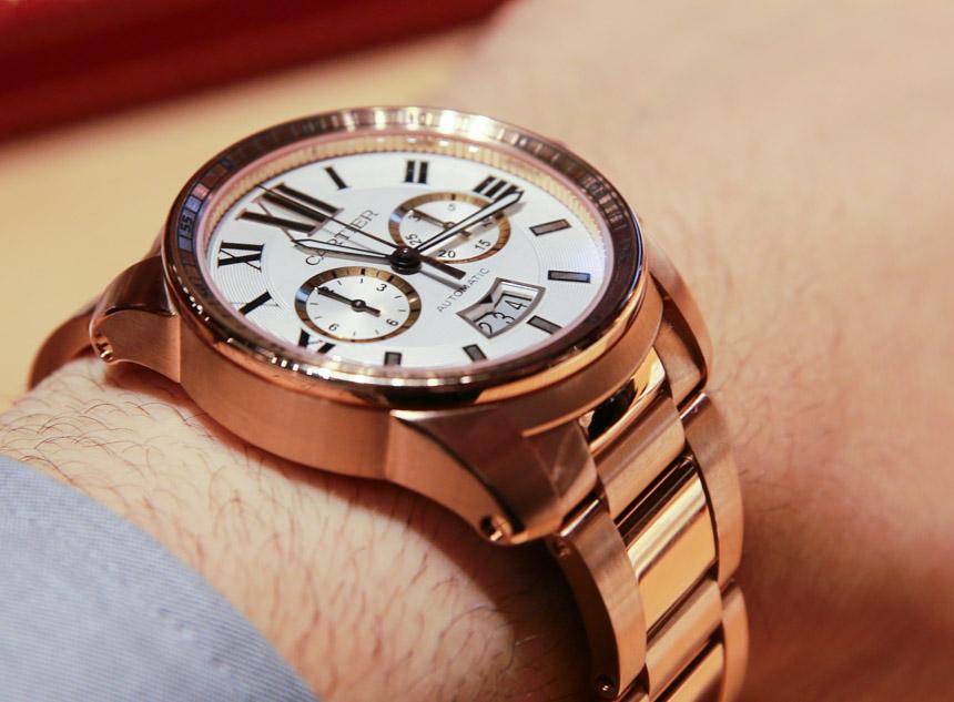 Replique Montre Calibre de Cartier Chronograph