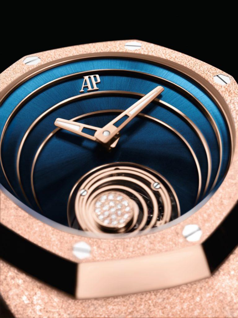 Replique Audemars Piguet Royal Oak Concept Frosted Gold Flying Tourbillon