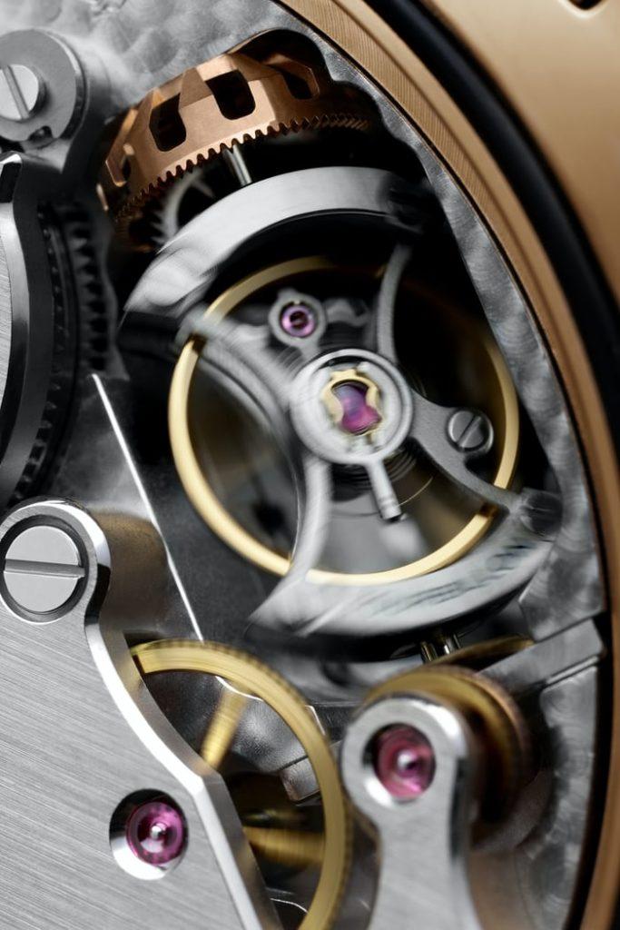 Replique Panerai Radiomir 1940 Tourbillon GMT Oro Rosso