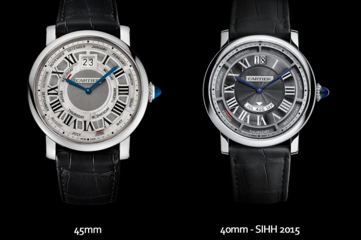 Replique Cartier Rotonde Annual Calendar 40mm