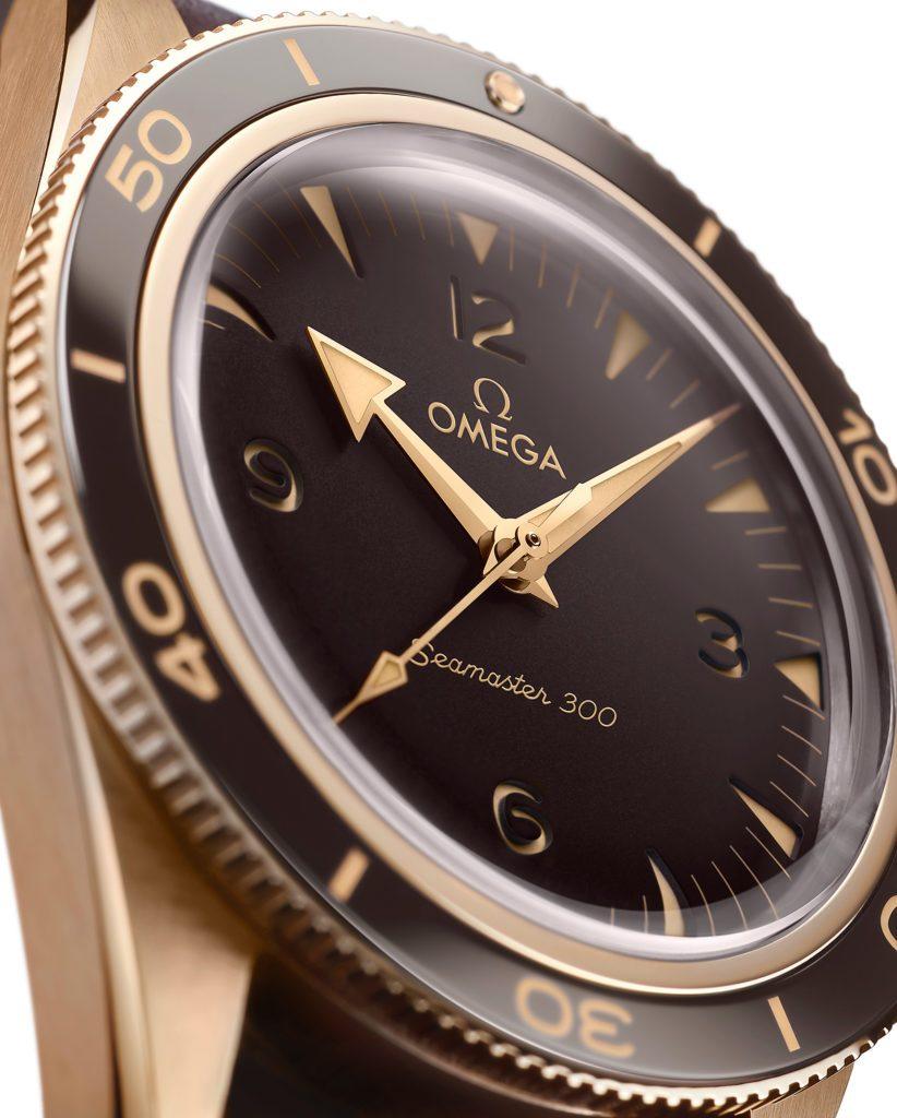 Replique Omega Seamaster 300 MC Bronze Gold